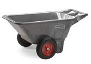 View: Rubbermaid Big Wheel Carts